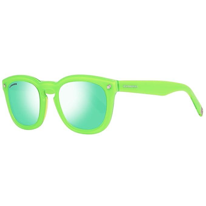 Dsquared2 Sonnenbrille DQ0198 95Q 49 Gafas de sol, Verde ...