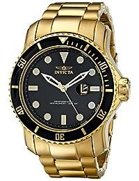 Invicta Men's 15351 Pro Diver Analog Display Japanese Quartz Gold Watch