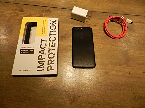 OnePlus 5 A5000 64GB Slate Grey, 5.5″, 6GB RAM, Dual Sim, GSM Unlocked International Model, No Warranty
