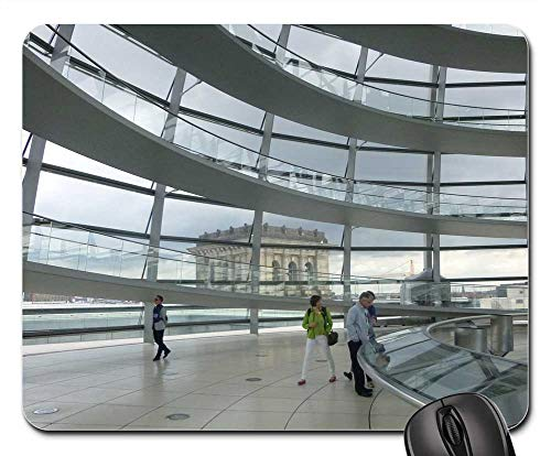 Mouse Pads - Berlin Glass Dome Reichstag Building