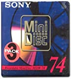 Sony Recordable Mini Disc - 74 Minutes