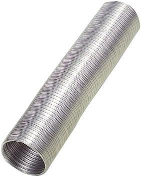 WOLFPACK LINEA PROFESIONAL 2560003 Tubo Aluminio Compacto Gris Ø 120 mm. / 5 Metros: Amazon.es: Hogar