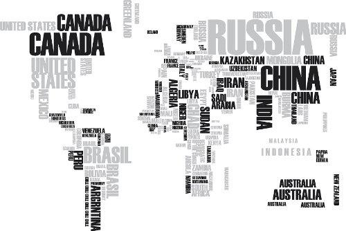 World map words vatozozdevelopment world map words gumiabroncs Image collections