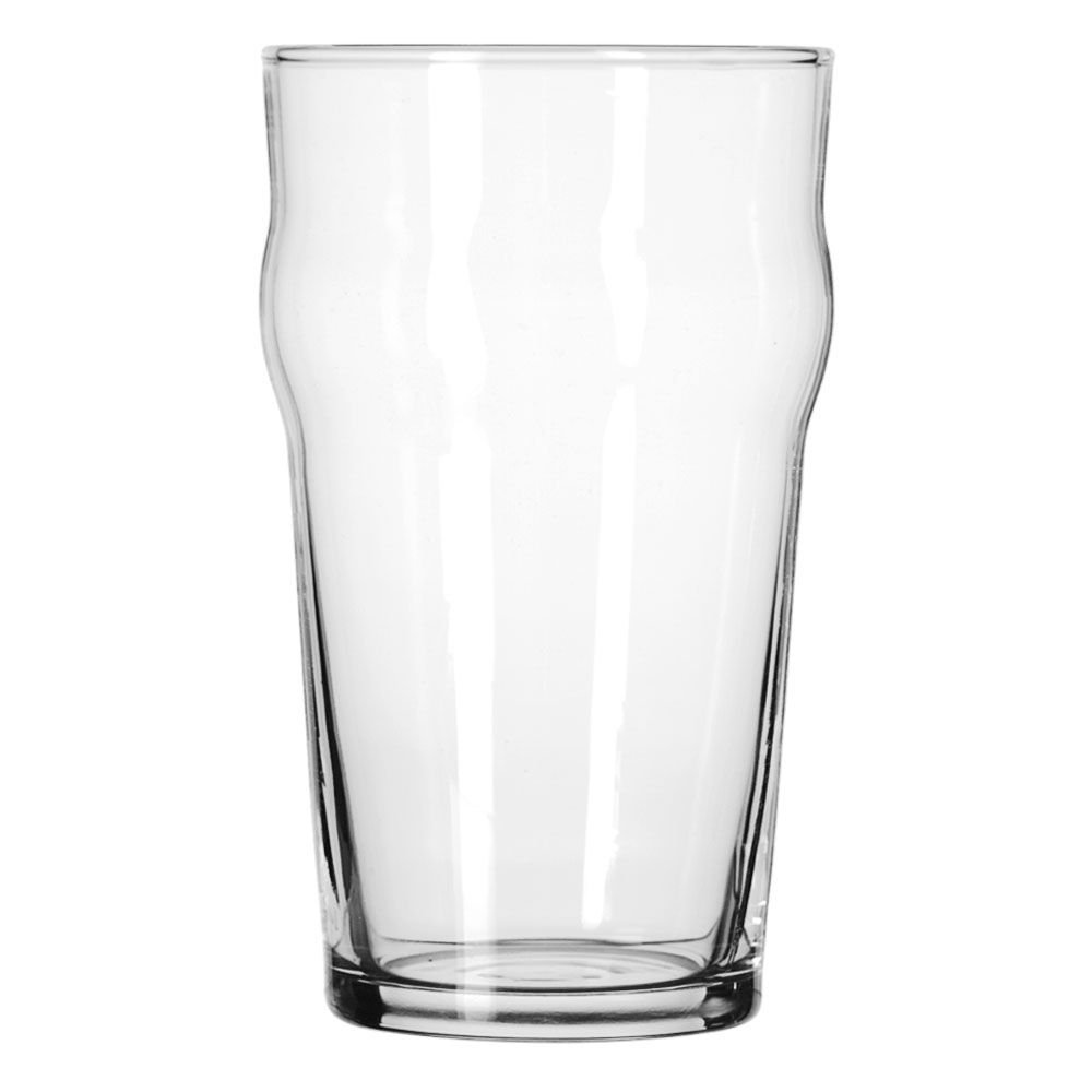Libbey Glassware 14801HT English Pub Glass, Heat-Treated, 20 oz. (Pack of 36)