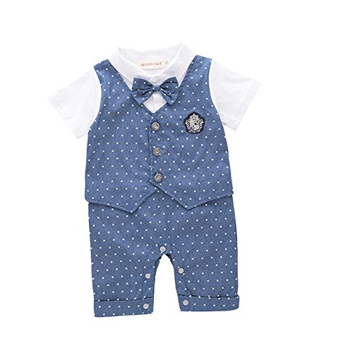 Fairy Baby Baby Boys' Short Sleeve Gentleman Onesie for sale  Delivered anywhere in Canada