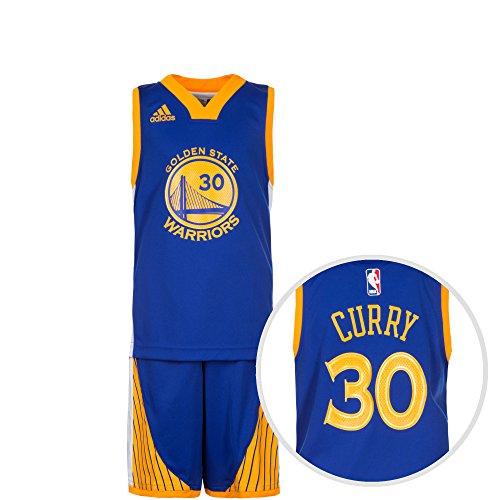 adidas Jungen Basketball-set Golden State Mini, Nbascu, 176, AO3408