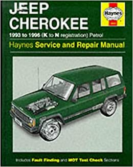 Jeep cherokee petrol 93 96 k to n haynes owners workshop jeep cherokee petrol 93 96 k to n haynes owners workshop manuals haynes publishing 9781850109433 amazon books fandeluxe Choice Image