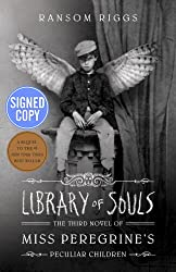 Miss Peregrine's Home for Peculiar Children, Hollow City, LIbrary of Souls, Tales of the Peculiar (AUTHOR SIGNED 4 BOOK SET)