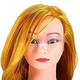 Molunt (TM) Plastic Permanent Tattoo Eyebrow Grooming Stencil Shaper Radian Ruler Measure Tool Makeup Reusable Measures T16