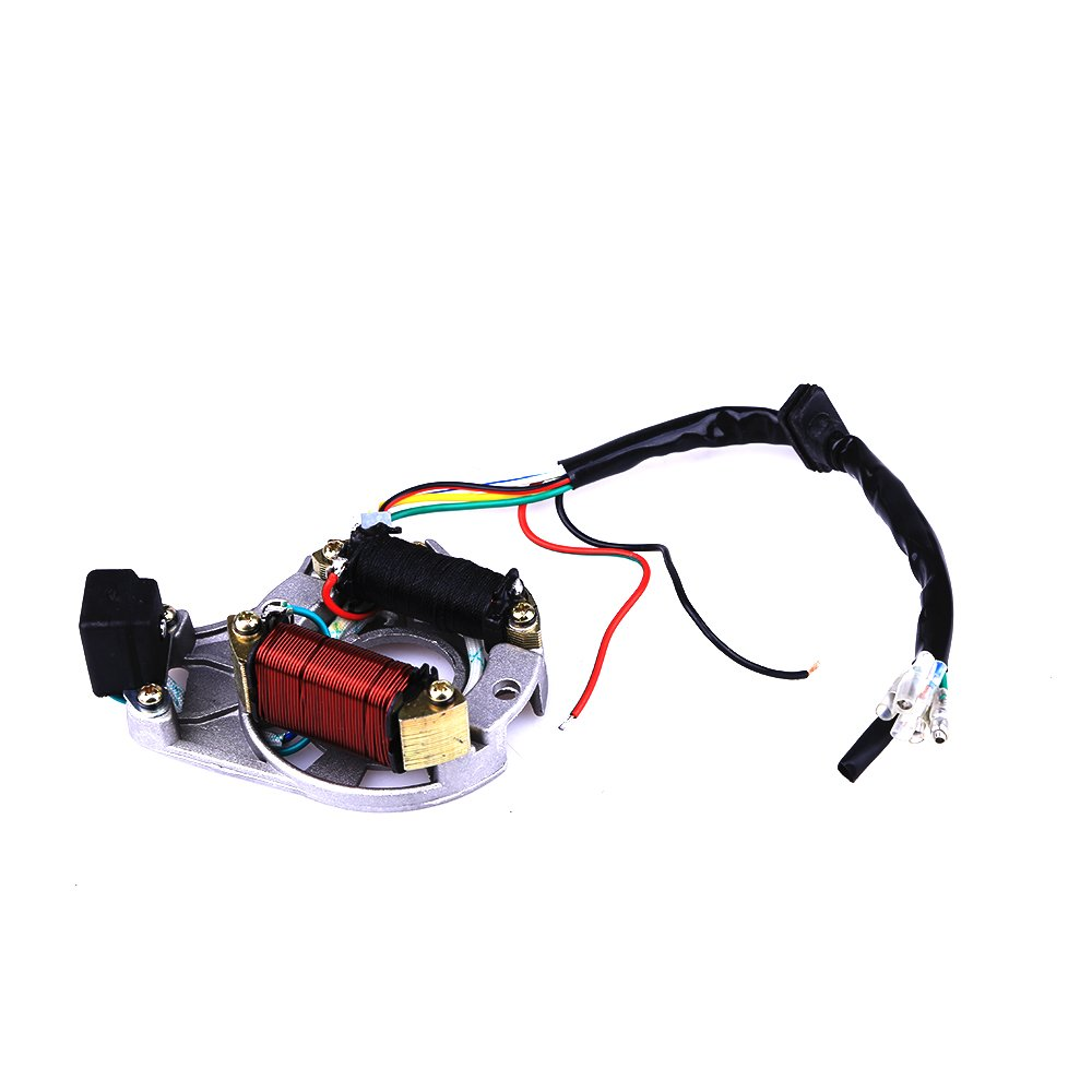 Complete Electrics Coil Cdi Wiring Harness Atv Klx 49cc 2 Stroke With Electric Starter Diagram Stator 50cc 70cc 110cc 125cc Automotive