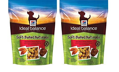 HILL'S 2-Pack Ideal Balance Soft-Baked Naturals with Beef & Sweet Potatoes Natural Soft Dog Treats