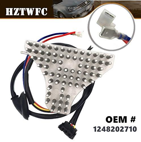 HZTWFC New Heater Fan Blower Motor Regulator Resistor OEM # 1248202710: