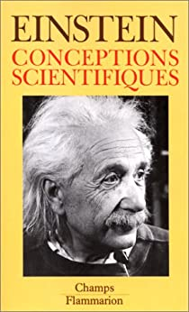 Conceptions scientifiques par Einstein