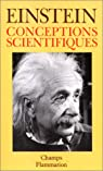 Conceptions scientifiques par Albert Einstein