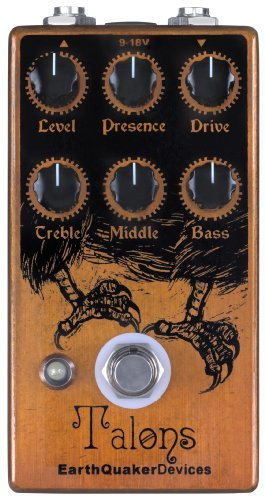 完成品 【 並行輸入品】 EarthQuaker Devices Talons Devices High B00JEFF58Y Gain Guitar Overdrive Guitar ディストーション エフェクトペダル B00JEFF58Y, ショウナイマチ:b798e008 --- a0267596.xsph.ru