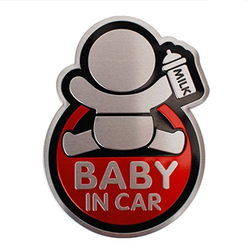 Auto Aufkleber Baby in Car Baby on Board Car Tattoo Reflective Tuning Auto 95Street