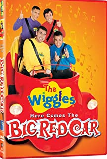 The wiggles lights camera action amazon dvd wiggles here comes the big red car import sciox Choice Image