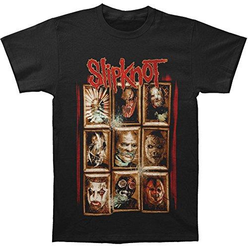 Slipknot Men's New Masks T-shirt X-Large -
