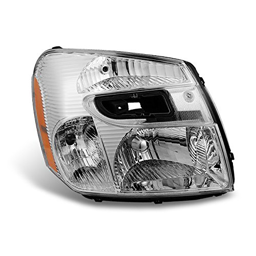 Chevrolet Equinox Replacement Headlight - For 2005 2006 2007 2008 2009 Chevy Equinox SUV Clear Right RH Passenger Side Headlight Headlamp Assembly