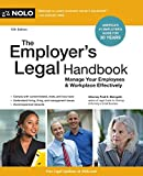 img - for Employer's Legal Handbook, The: Manage Your Employees & Workplace Effectively book / textbook / text book