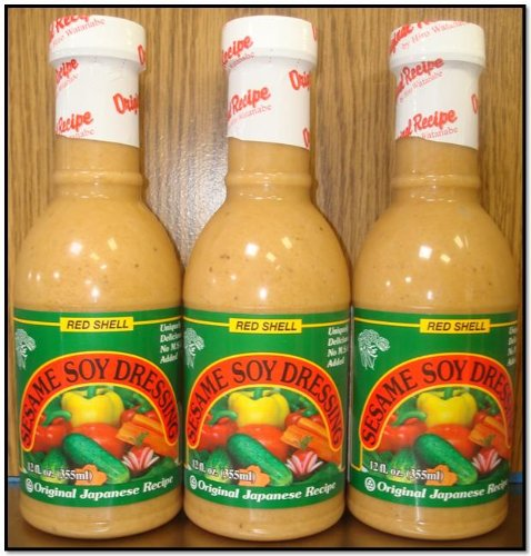 Red Shell Sesame Soy Dressing (Pk of -