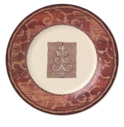 - Pfaltzgraff Holiday Spice Salad Plate, Tree