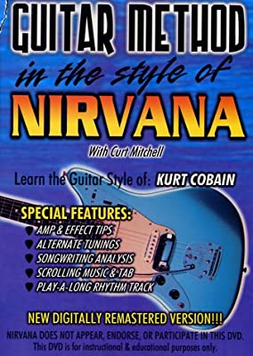 Guitar Method - In the Style of Nirvana Alemania DVD: Amazon.es ...