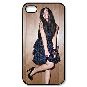 C-EUR Customized Print Demi Lovato Pattern Back Case for iPhone 4/4S