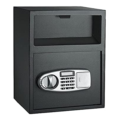 Mefeir Home Office Wear-Resistant Digital Security Password Safe Box with Fire-Proof Design