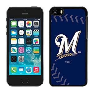 Personalized Iphone 5c Case MLB Milwaukee Brewers 2 Customized Phone Covers