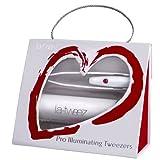La-Tweez Valentines Pro Illuminating Tweezers by La-Tweez