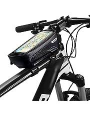 Lixada MTB Bike Bicycle Bag Top Tube Handlebar Cell Phone Mount Holder Bag T0F6