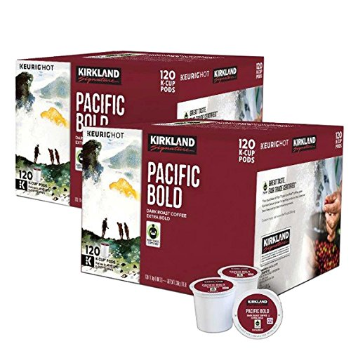 Kirkland Signature Coffee Single Serve K-Cup (Pacific Bold, 240 - Fair Pacific Stores
