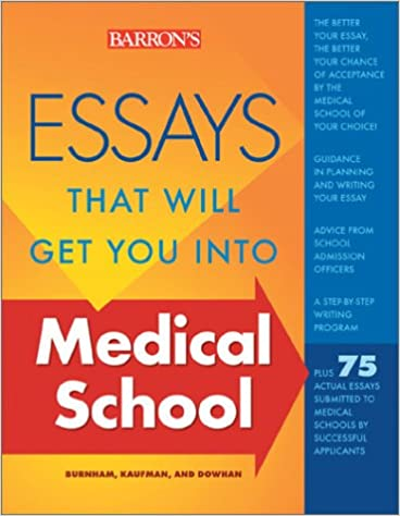 medical school personal statement examples