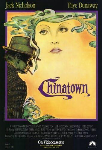 Amazon Com Pop Culture Graphics Chinatown Poster Movie B 11x17 Roman Polanski Jack Nicholson Faye Dunaway John Huston Prints Posters Prints