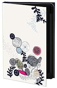 Keka SLP35-SL10-IPH5 - Funda rígida para iPhone 5 (fijación a presión), diseño de flores y hojas de Suzanne Lefebvre