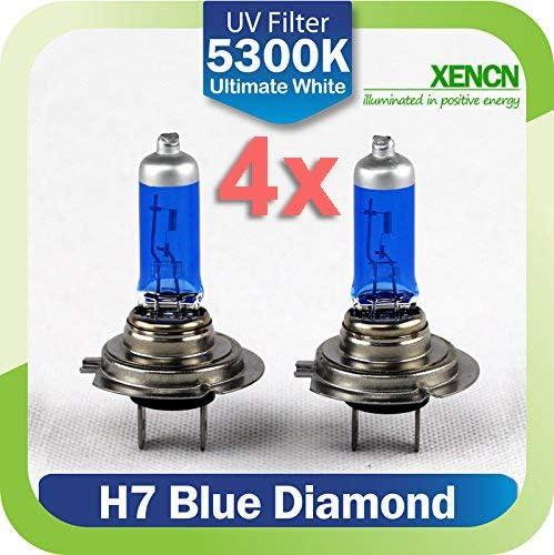 Ledpremium 4 X Halogen Leuchtmittel Xencn H7 65 W Bl Xenon Effekt Auto