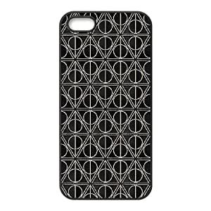 iPhone 5 5s Cell Phone Case Black Deathly Hallows Y3398525