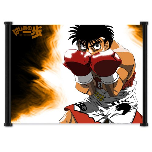 Hajime No Ippo Fighting Spirit Anime Fabric Wall Scroll Post