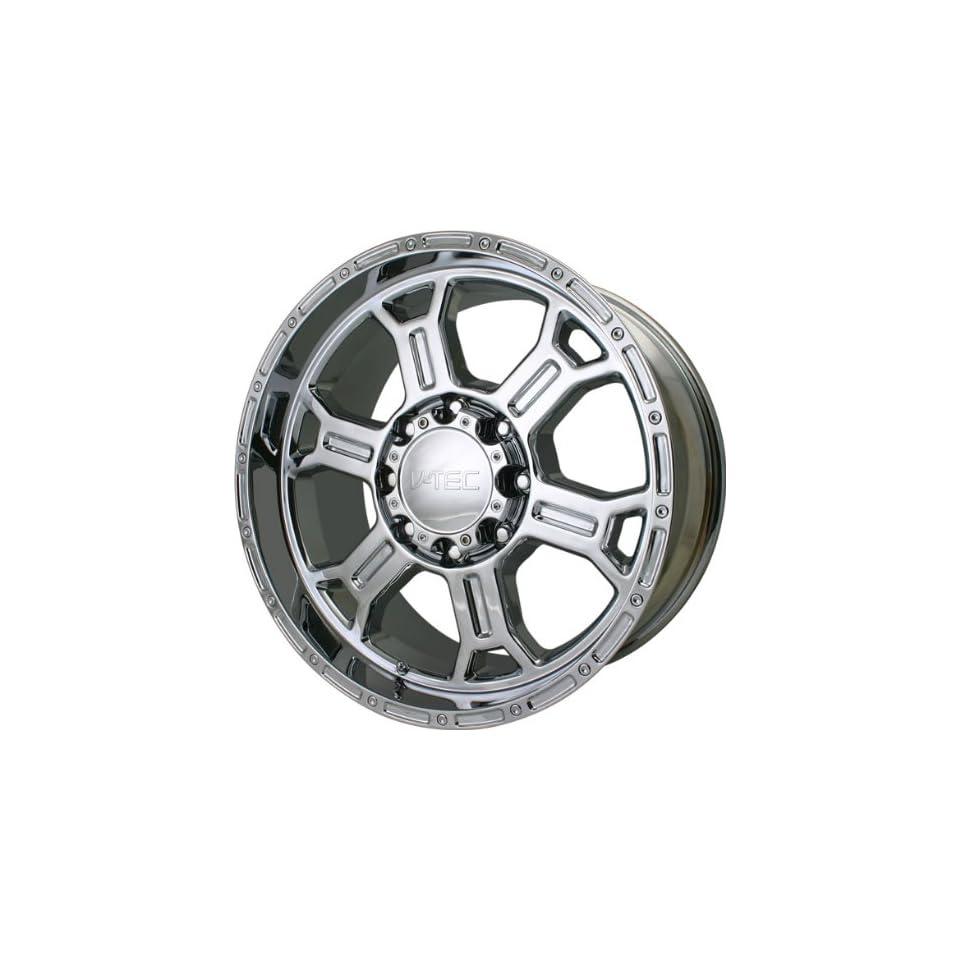 VISION WHEEL   372 raptor   22 Inch Rim x 9.5   (6x5.5) Offset (25) Wheel Finish   Chrome