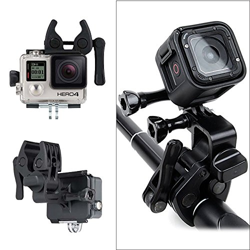 Sportsman mount for gopro philonext fixing clip gun for Gopro fishing mount