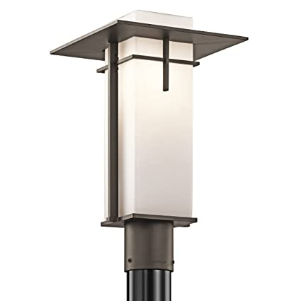 Amazon kichler 49646oz caterham outdoor post mount 1 light kichler 49646oz caterham outdoor post mount 1 light olde bronze mozeypictures Image collections