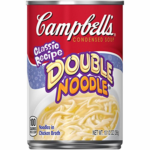Campbell's Condensed Soup, Double Noodle, 10.5 Ounce (Pack of 12)