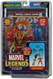 Marvel Legends Series 12 Action Figure Iron Fist Red Variant