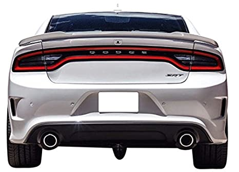 Painted Factory Style Spoiler for the 2011-2018 Charger 553 Brilliant Black XR PXR