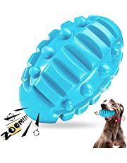 Dog Chew Toys for Aggressive Chewers Large Breed, Non-Toxic Natural Rubber Dog Toy, Tough Durable Puppy Toothbrush Toy for Medium Large Dogs - Fun to Chew, Chase, and Fetch (Beef Flavored)
