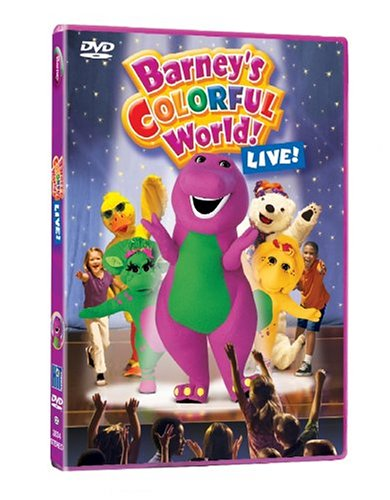 Barney: Colorful World (Barney Dvd Live)