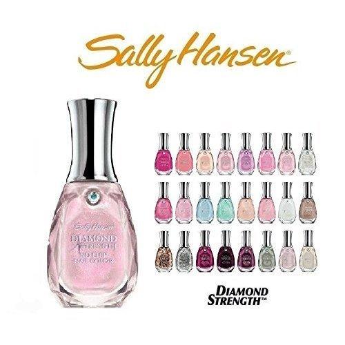 (Lot of 10 Sally Hansen Diamond Strength Finger Nail Polish No Repeat Colors)