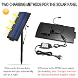 Solar Panel, FVTLED 2600MA DC 12V Output Dusk to