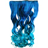"AGPtek 26"" Enstyle Supreme Neon Tangle Curly 100% Human Color Hair Extension Ponytail-3Color"